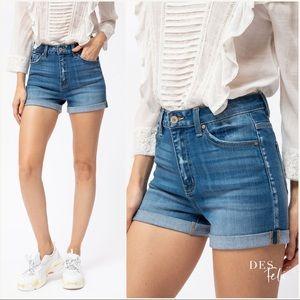 Super High Rise Jean Shorts